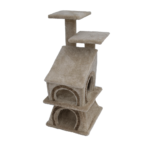 Amazing-Cat-Tree-Cozy-Cabin-Duo cat house