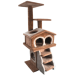Amazing-Cat-Trees-Deluxe-Duplex cat house