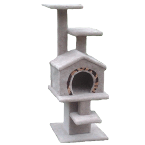 Amazing-Cat-Trees-Hideout-II cat house
