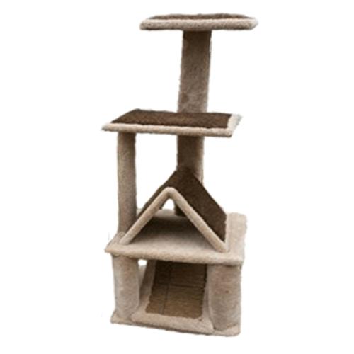 Amazing-Cat-Trees-Triangular-Dwelling cat house