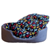 Amazing-Cat-Trees-Denim-Cuddler-Cat-Bed-navy-blue