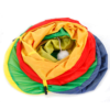 Amazing-Cat-Trees-Multicolor-Cat-Tunnel-Cat-Toy-showing-ball inside