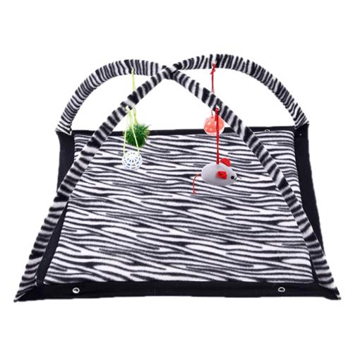 Amazing-Cat-Trees-Zebra-Print-Mobile-Activity-Cat-Toy image