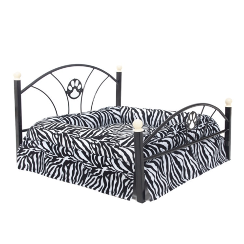 Amazing-Cat-Trees-Zebra-print-rail-cat-bed image